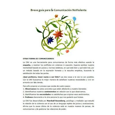 portada breve guía gratis comunicación no violenta